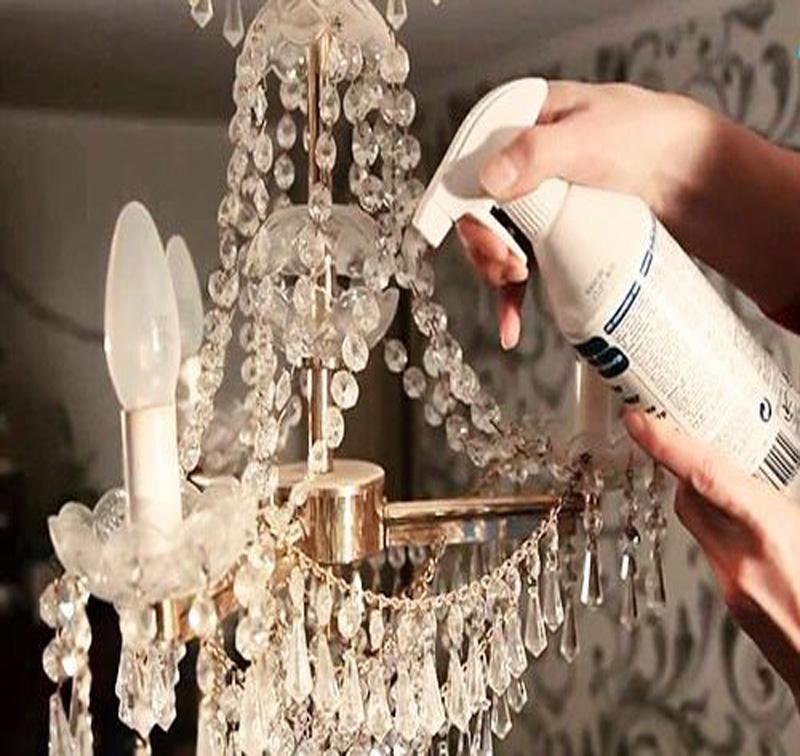 تمیز کردن لوستر
